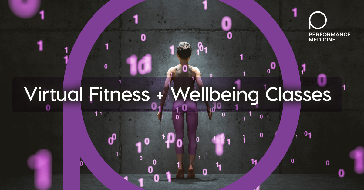 NEW! Virtual Fitness & Wellbeing