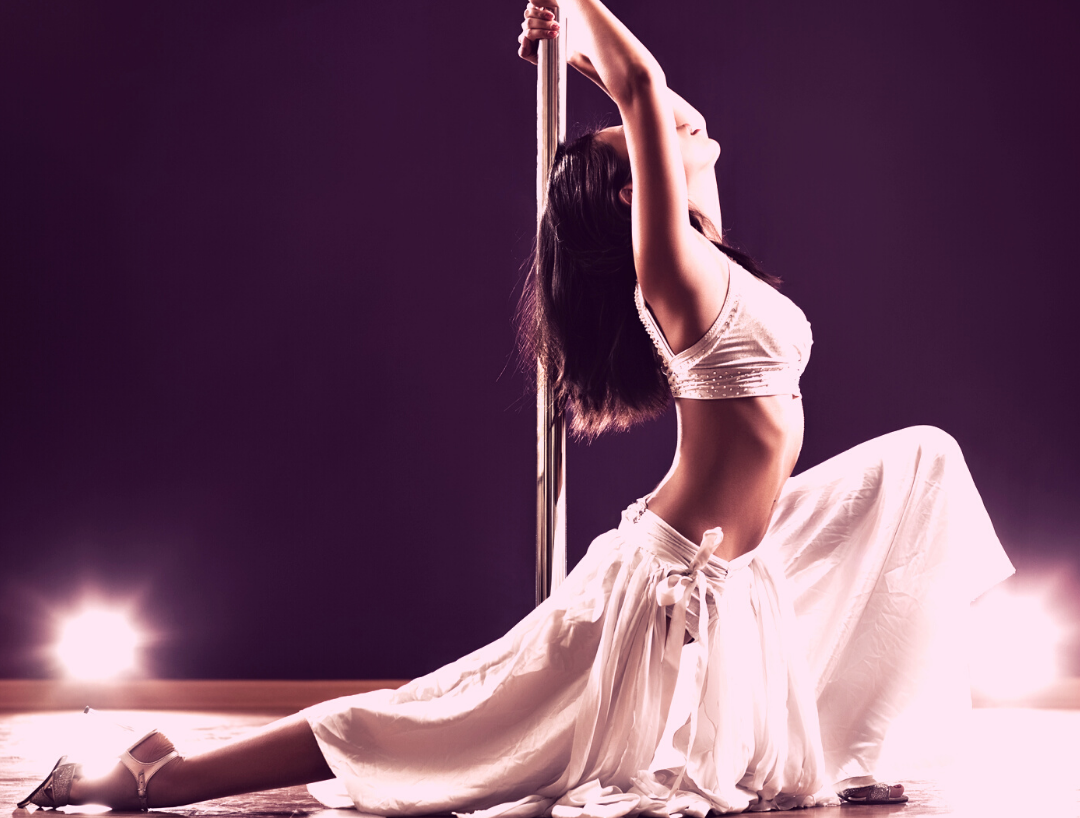 I am strong because I pole dance!